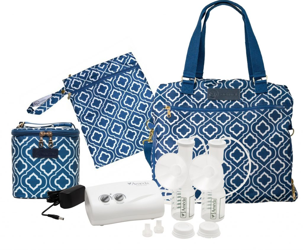 Ameda Finesse with Sarah Wells Lizzy Bag All-In Bundle